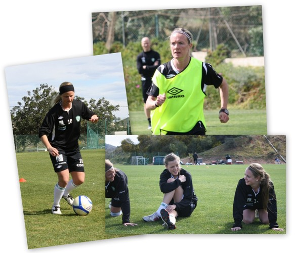 Fotballskole collage